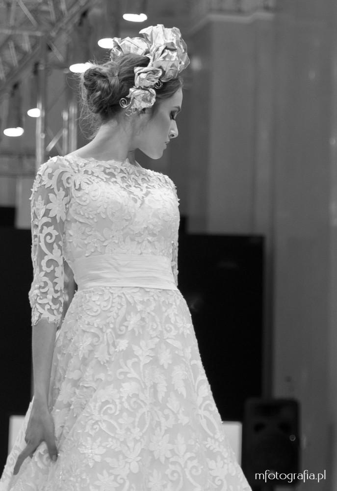 fotografia sukni ślubnej