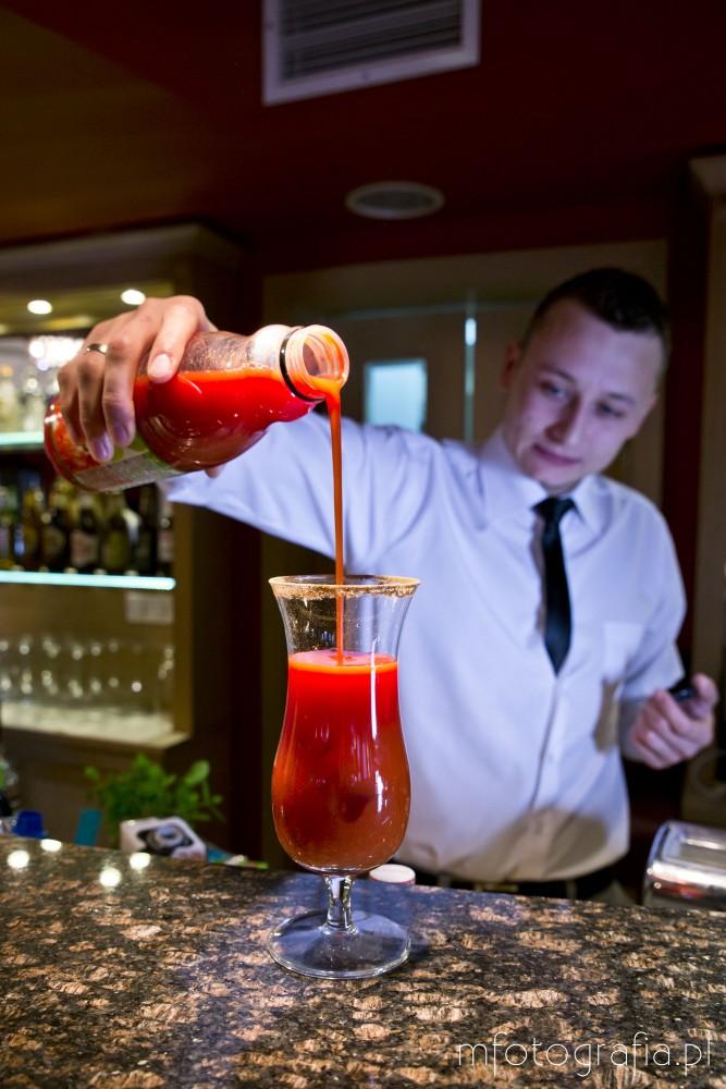 zdjęcia drinku czerwonego