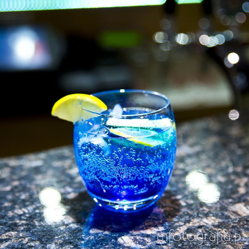 zdjęcie drinku blue lagune